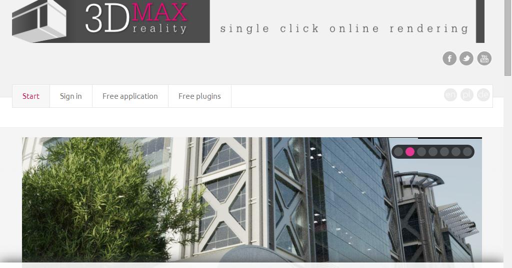 3d max reality online rendering for 3d rendering online
