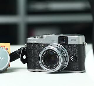 Jual Fujifilm X20  Bekas