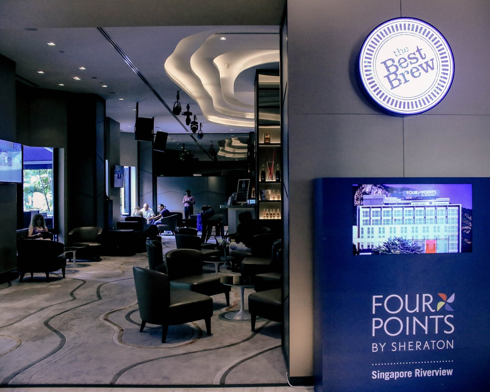 the best brew, fourpoints by sheraton, singapore