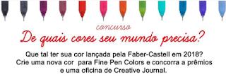 """Concurso Faber Castell: """"Quais cores seu mundo precisa?"""""""