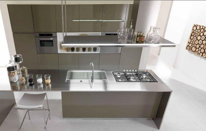 Beautiful Mobili Cucina Acciaio Pictures - Skilifts.us - skilifts.us