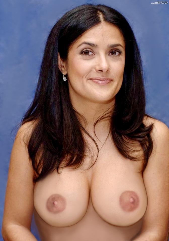 Salma Hayek Nude Pussy