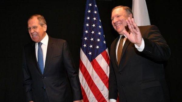 Lavrov y Pompeo se reunirán el próximo 14 de mayo en Rusia