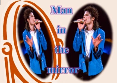 the man in the mirror poem meaning
