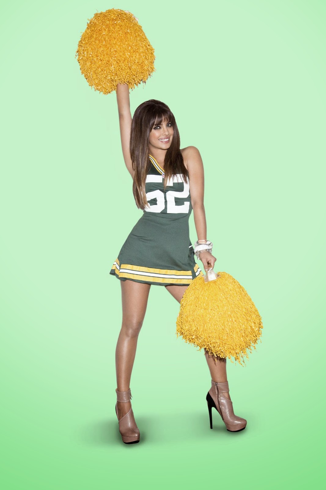 Priyanka Chopra as NFL Cheerleader