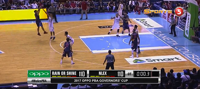 NLEX def. Rain or Shine, 122-114 in 2OT (REPLAY VIDEO) July 26