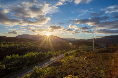 Sunrise near Lochinver by Laurence Norah-8