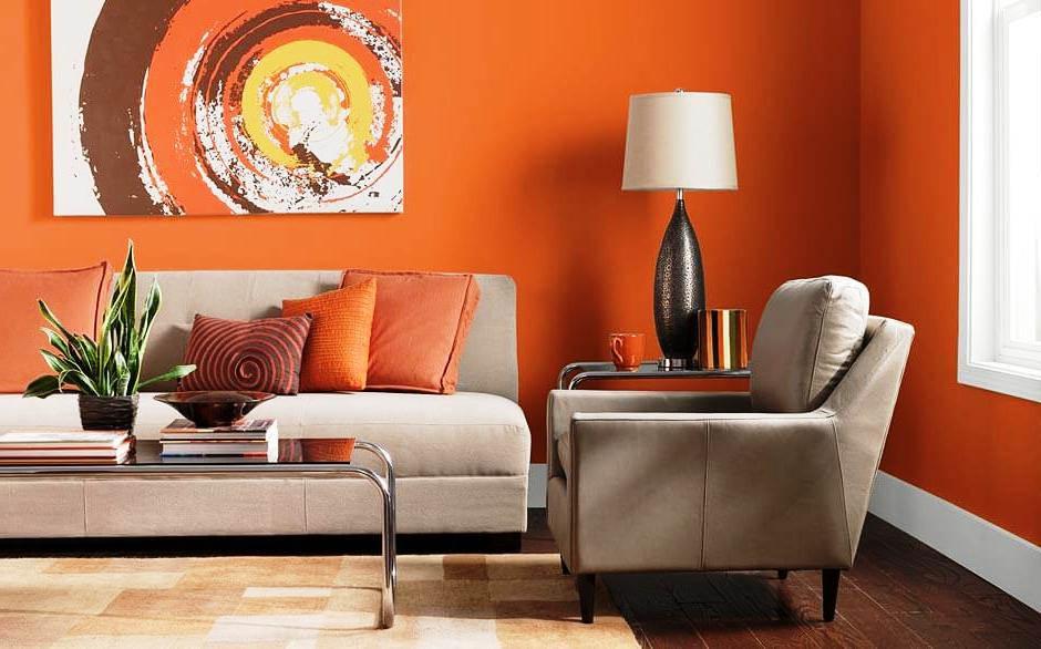 Gambar Warna Cat Dinding Ruang Tamu Sempit Minimalis