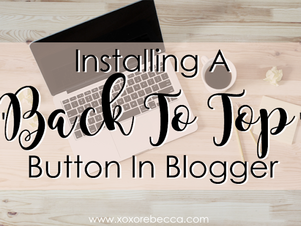 """Installing A """"Back To Top"""" Button"""
