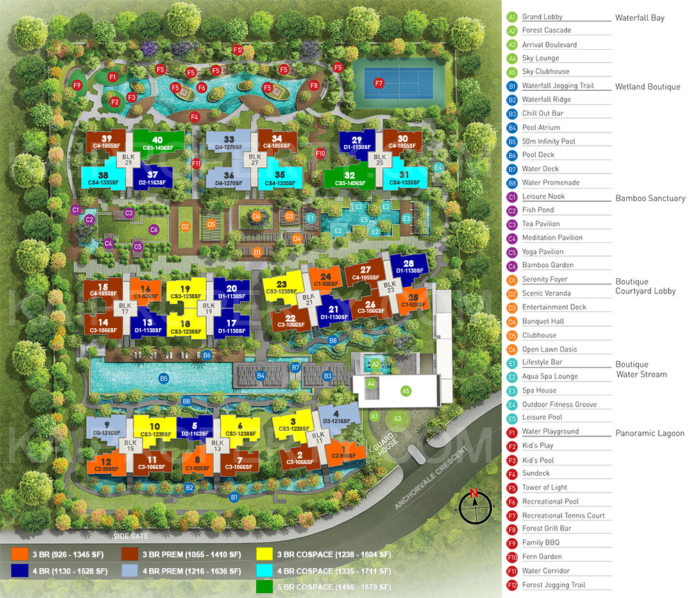 Bellewaters Site Plan