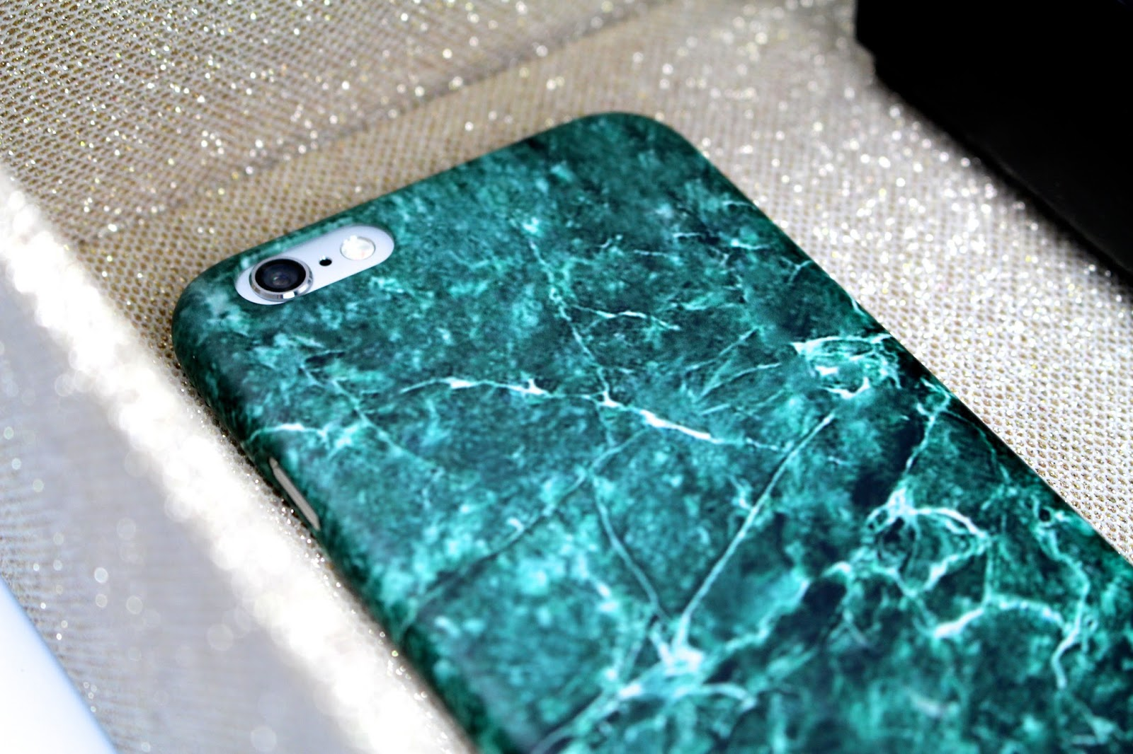 CaseApp Green Marble iPhone Case