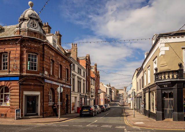 Photo of Crosby Street in Maryport