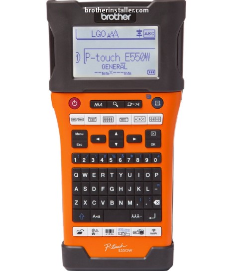 Brother PT-E550W Driver Download