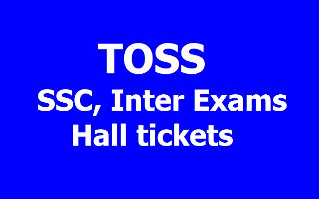 TS Open School - TOSS SSC and Inter Hall tickets