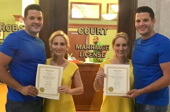 This Is The Unbelievably Story Of The Identical Twin Sisters Who Married Identical Twin Brothers, And They All Live Together