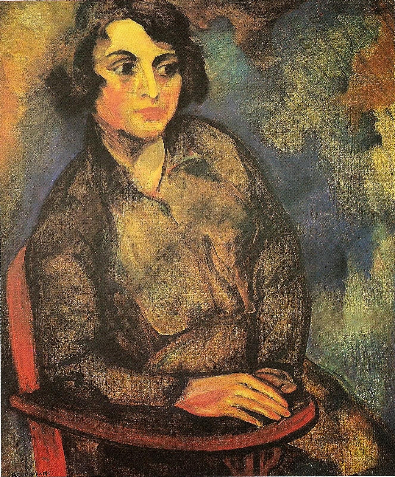 A Estudante Russa - Anita Malfatti e suas principais pinturas ~ Pintora brasileira