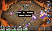 castle clash lav adası 3