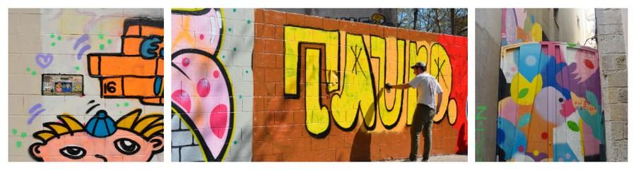 graffitis en création