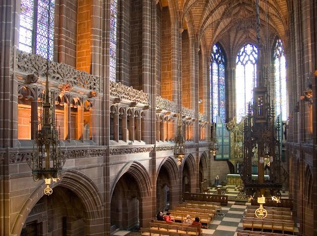 Что посмотреть в Ливерпуле бесплатно: Кафедральный собор Ливерпуля