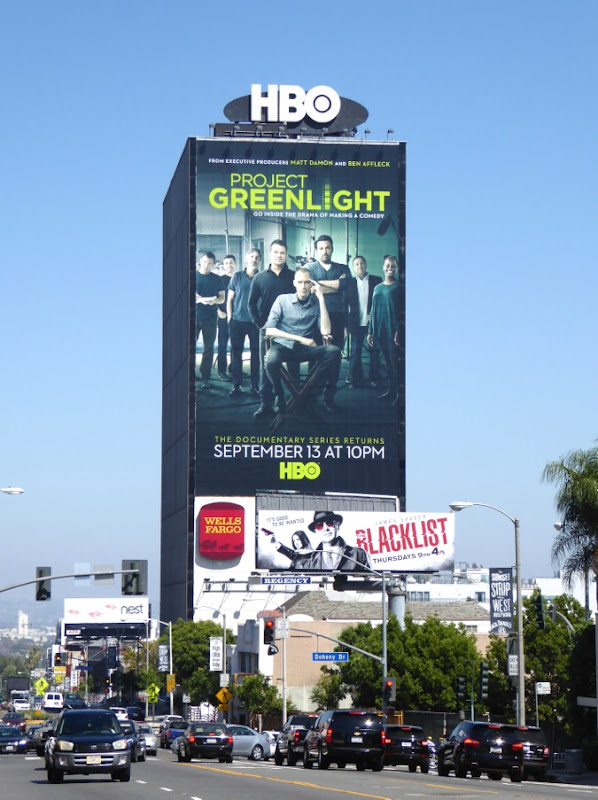 Giant Project Greenlight season 4 billboard Sunset Strip