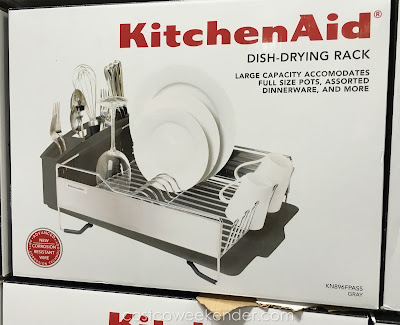 Dry dishes with ease with the KitchenAid KN896FPASS Stainless Steel Dish-Drying Rack