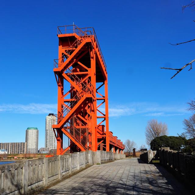 荒川自転車道 旧岩淵水門