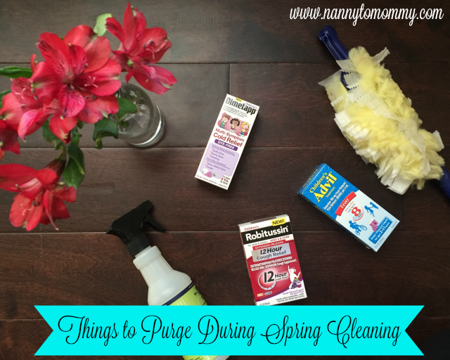 Things to Purge During Spring Cleaning + #SickJustGot Real Giveaway