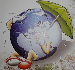 Pemanasan global pada kehidupan di Bumi