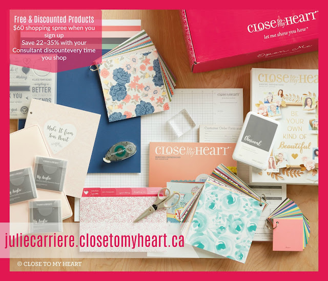 close to my heart consultant kit