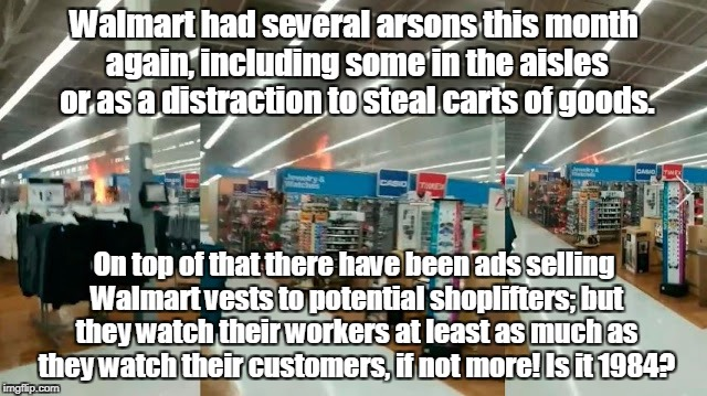 Non-violent grass roots reform and Democracy Walmart Crime Report