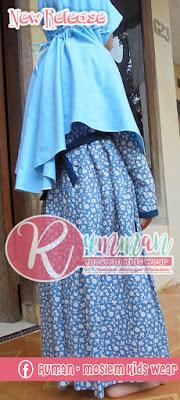 Model Gamis Anak Perempuan Belakang