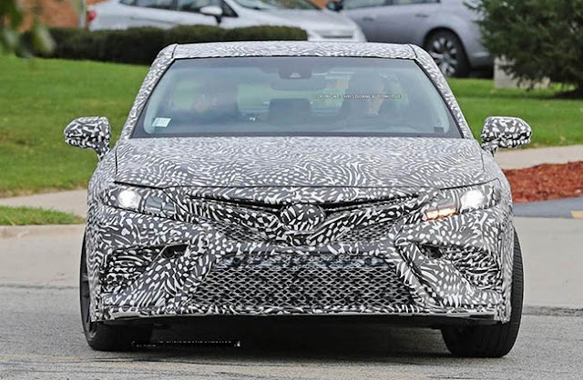 2018 Toyota Camry Preview, Specs and Spy Photos