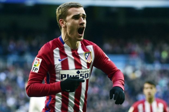 Atletico Madrid's prolific striker Antoine Griezmann