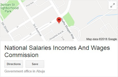 National Salaries, Incomes and Wages Commission Recruitment Login 2018/2019 | See How To Apply