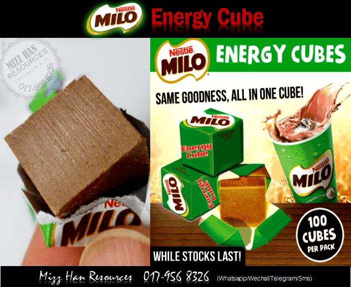 milo energy cube how to eat