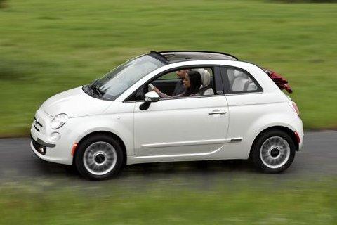 Fiat 500c Cabrio Lounge