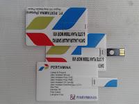 Flashdisk Kartu FDCD04  PERTAMINA
