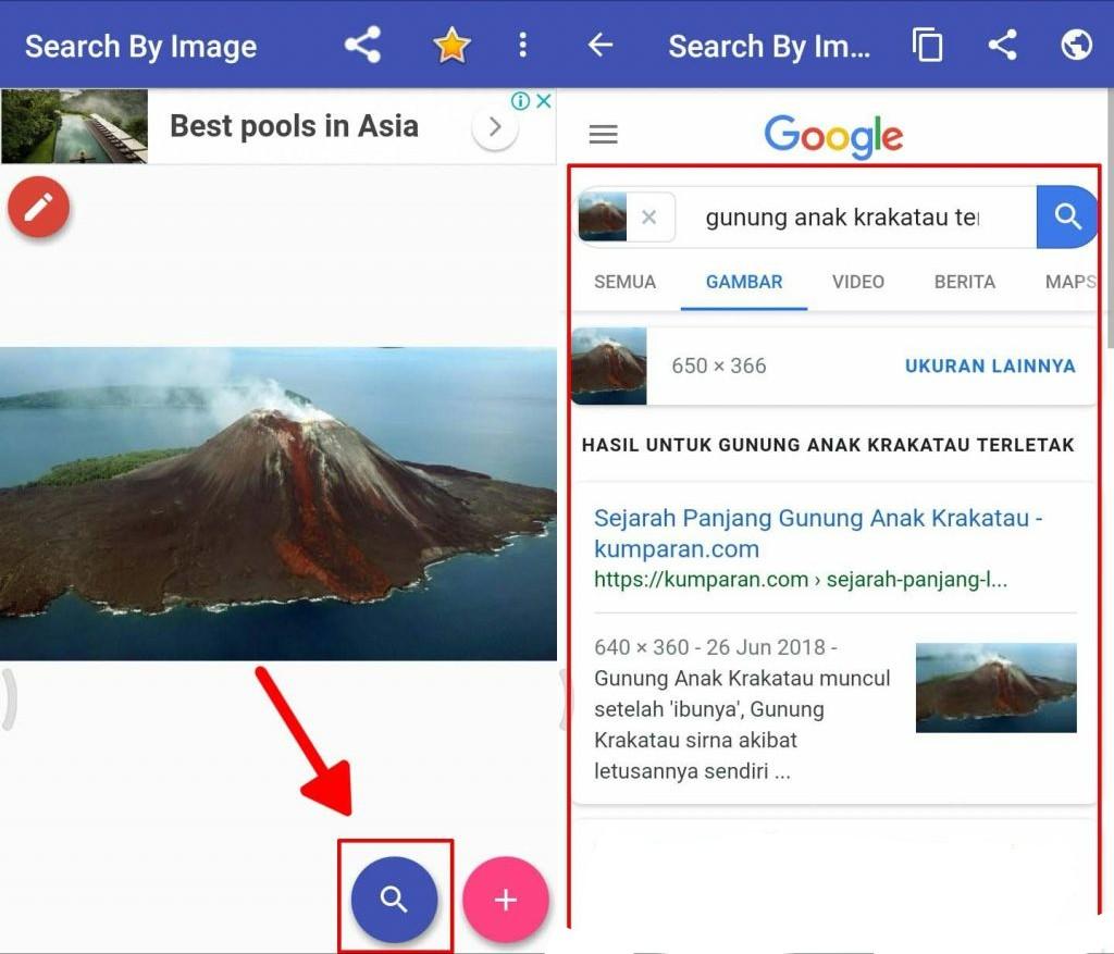 Cara gampang melakukan pencarian informasi dengan gambar di internet 3