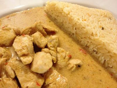 gluten free red thai curry