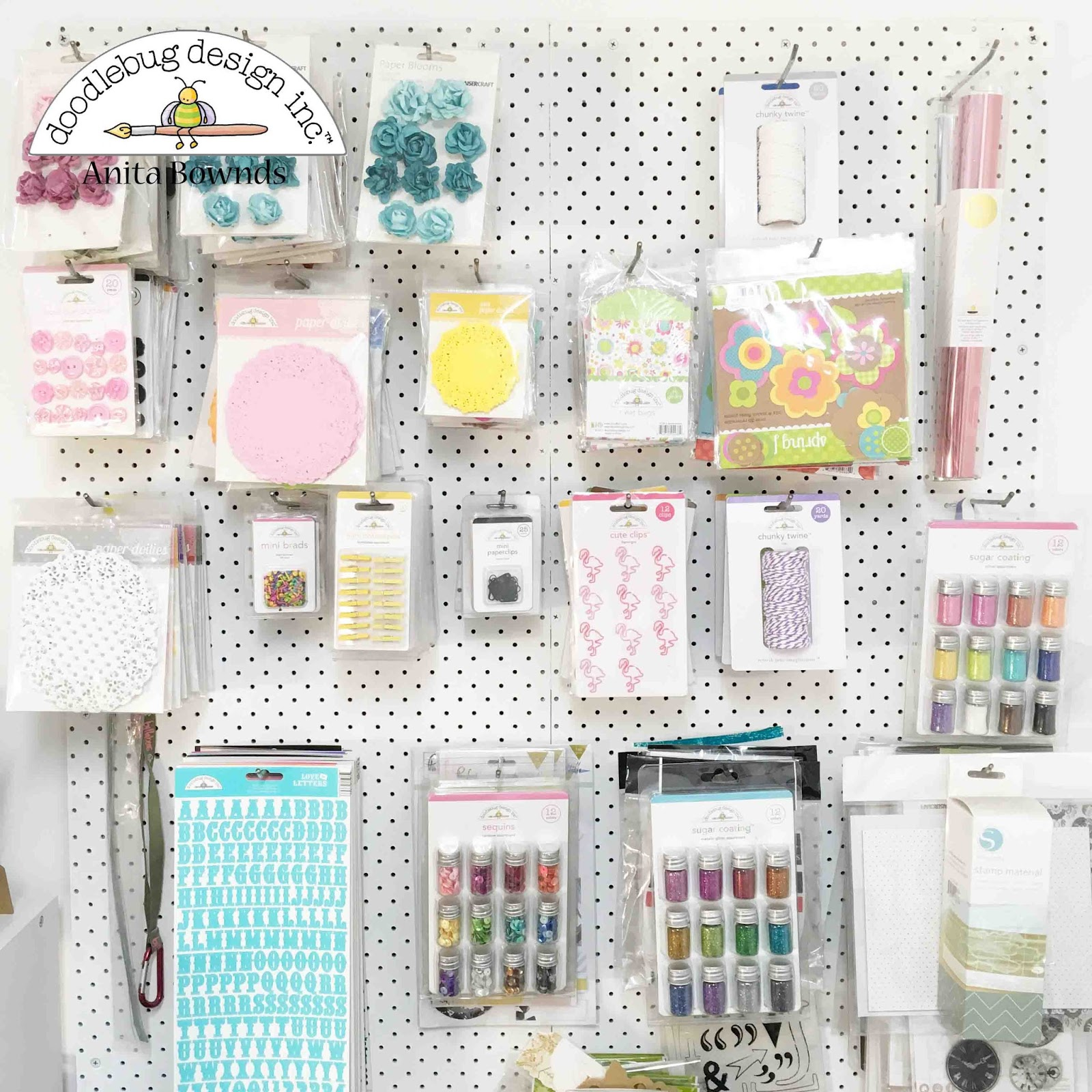 Neat and crafty craft space ideas doodlebug dt