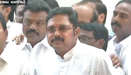 Chance was not given to speak in assembly: TTV Dhinakaran | TTV Dhinakaran | RK nagar | Assembly