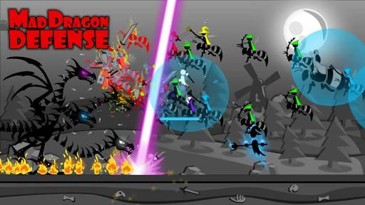 Download Mad Dragon Defense Mod Apk Unlimited Money