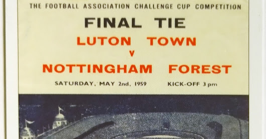 Sporting Profiles FA Cup Finals Luton Town v Nottingham Forest