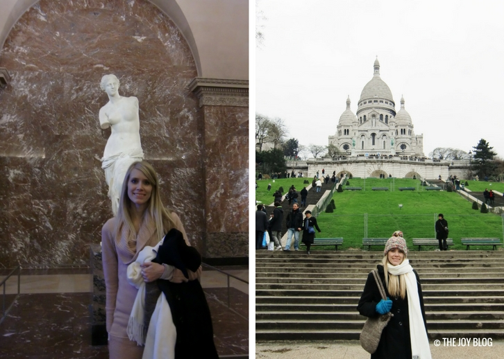Inside the Louvre & Montmartre and Sacre Coeur | That One Time I Went to Paris // WWW.THEJOYBLOG.NET