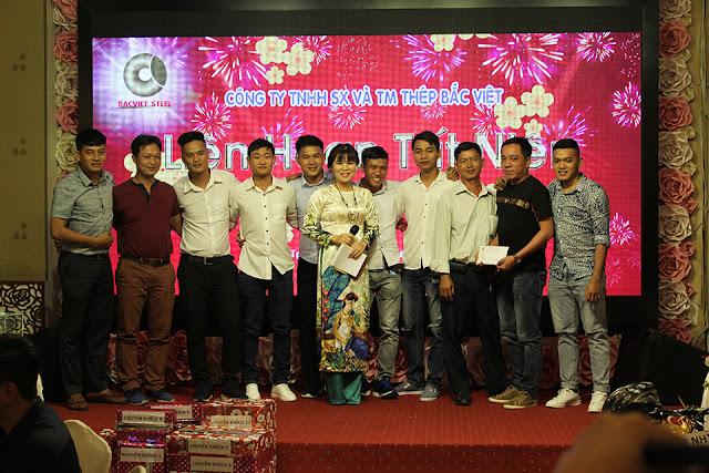 BCH Công Đoàn tri ân các thành viên trong đội bóng đá Bắc Việt FC
