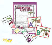 Chicka Chicka Boom Boom Take Home Book Pack, www.JustTeachy.com