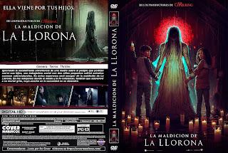 CARATULALA MALDICION DE LA LLORONA - THE CURSE OF LA LLORONA - 2019