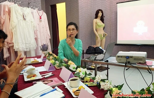 lingerie workshop, sorella workshop, sorella malaysia, how to wear the right bra, how to make your body look sexier, lingerie tips, bust size
