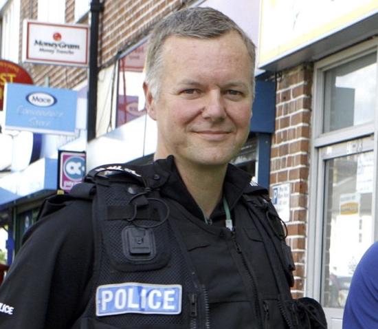 Sergeant Stephen Hynes - image courtesy of Hertfordshire Police