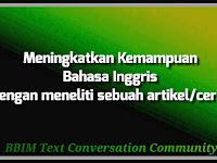 Manfaat Membaca Untuk Meningkatkan Kemampuan Bahasa Inggris